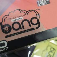Bang Max Pro Russian version Disposable Vape E-cigarettes Pod 3.5ml 2*1000 Puffs Battery 550mAh