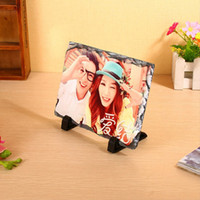 Rectangle Sublimation Blank Board Painting 20*30Cm Thermal Transfer Printing Natural Rock Oleograph Arts And Crafts 14 8rj J2