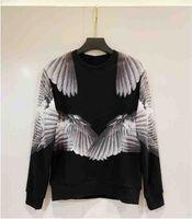 20s França Última Spring Summer Sweater moda anjo asas jogging hoodies homens mulheres casuais de algodão camisa de beisebol 05