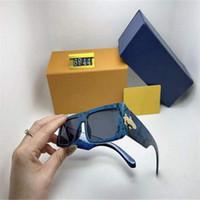 2021 Marka Yeni En Kaliteli Polarize Güneş Gözlüğü Erkekler Ve Kadınlar için Büyük Çerçeve Kare Lüks Güneş Gözlüğü Tasarımcı Açık Moda Gözlük