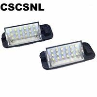 2 шт. Для светодиодных линцевых листичных знаков E36 18smd белый 12V номера пластины лампочки для E36 318i 318is 318Ti 325i M3,92-981