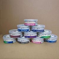 PressItin Dosen intelligente Knospe-Aromen-Aufkleber 66 * 27mm Cali-Pressstoff-Thunfisch-Tin-Dose 3,5g trocken herbtin Klare Abziehen von Deckelabdeckung Geruchssicher
