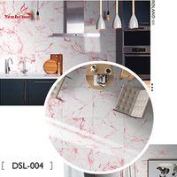 Vinilo nórdico autoadhesivo textura de mármol calcomanías de pared grueso impermeable cuarto de baño cocina pisos de azulejo etiqueta de azulejos decoración casero 30x30cm 201203