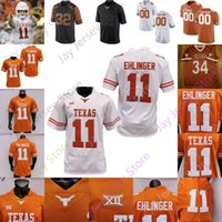 Texas Longhorns Football Jersey NCAA College College Bijan Robinson Whittington Joshua Moore Tarik Brenden Schooler Marcus Willman Jr.