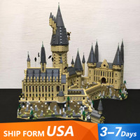In Stock 16060 Movie Series 6020Pcs Hogwartsins Magic Castle with 71043 Building Blocks Bricks Toys Gifts