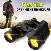 60x60 jumelles HD 3000m Puissance pour la chasse en plein air Optique LLL Night Vision Night Vision Télescope Haute clarté Binocular Fixe Zoom