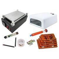 13 in 1 LCD Repair Kit Mobile Vacuum Separator machine LY 947 V.2 36W UV lamp 6pcs Fixed mold UV LOCA glue Accessories