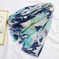 Moda de moda de moda Larga estampado bufanda Wrap Wrap Ladies Shawl Girl Large Bastante bufanda Tole Beauty Beauty Mujeres Accesorio Regalos1