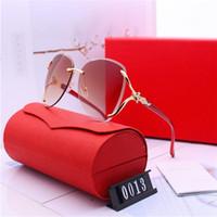 Designer sunglasses mulheres luxo óculos de sol moda marca para óculos de mulher dirigindo uv400 adumbral com caixa e logotipo de alta qualidade novo quente