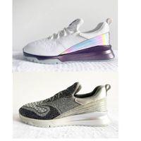 كبيرة الحجم 35-46 2020 الأحذية الفاخرة VNR عداء عارضة النساء الرجال أحذية رياضية أبيض أسود أخضر متماسكة الدانتيل متابعة باريس المدربين أعلى الأحذية مع مربع