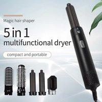 Secador de cabelo elétrico escova de ar quente alisador de cabelo pente pincel estilyling estilyling1