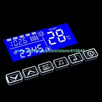 K3015CA Işık Ayna Dokunmatik Anahtarı Bluetooth FM Radyo Sıcaklık Tarihi Takvim Ekran Banyo veya Kabine Ayna T200605