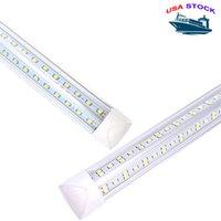 통합 LED 튜브 8FT V 모양의 LED 조명 72W T8 LED 튜브 4FT 5FT 6FT 쿨러 도어 빛 SMD 2835 100LM / W AC85-265V