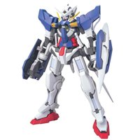 Anime Modell GAOGAO Gundam 00 Hg 1/144 GN-001 Exia Montage Action Figuorals Brinquedos Modell Roboter Mobile Anzug Hot Kids Toys 201203