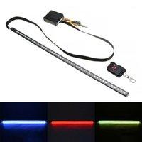 Interiorexternale Beleuchtungen Hohe Qualität 22 Zoll 48LED RGB Autopanner Ritter Reiter Strobe Flash Lichtstreifen + Fernbedienung für LED-Tools1