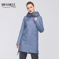 Miegofce Kadınlar Parkas Pamuk Yastıklı Ceket Yeni Bahar Tasarımlar Kadın Ceketler Hood Ile Uzun Sıcak Moda Mont Mom Sıcak 201027