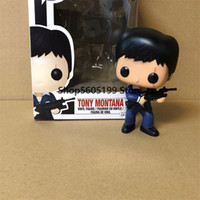 Scarface Pop Tony Montana con scatola Vinyl Action figures Collection Model Toys 201202