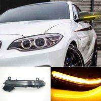 2 adet Dinamik Direksiyon Sinyal LED Dikiz Aynası BMW 1/2/3/4 Serisi F20 F22 F30 X1 Için Flaş Gösteren