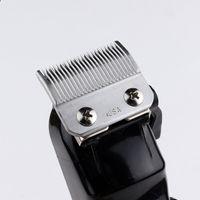 Prolityum Serisi Profesyonel Saç Kesme Beyaz Erkekler Elektrikli Akülü Saç Düzeltici 0mm Baldheaded T Blade Finish Saç Kesimi Makinesi DHL tarafından