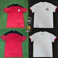 Egitto Home Fans 'Abbigliamento sportivo Egitto 20/11 Egitto 10 m.salah Camicia da calcio Ax A.Hegazi Kahraba Ramadan M.Elneny Uniform Uniform Adult