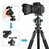 """ترايبود رؤساء Andoer TB81X الكرة 360 درجة Ballhead for Monopod Slider DSLR كاميرا مع 3PCS 1/4 """"إلى 3/8"""" Serve Adapters1"""