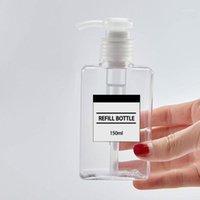 150 مل زجاجة مضخة رغوة واضحة 30ML زجاجات رذاذ الصابون رغوة مدمج موزعات السائل المنزلية لصحة الأطفال 1