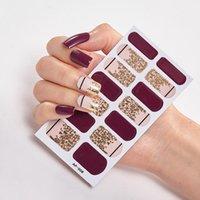 Manicure Decoracion Fashion Nail Polish Autoadesivo Nail Sticker Decoration Nails Sticker Designer Designer Pellicola