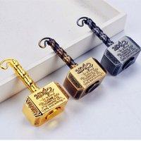Venda quente Redução de Pressão Toy Quake Fidget Spinner Vintage Mão Spinner Hammer Liga Spinner Presente