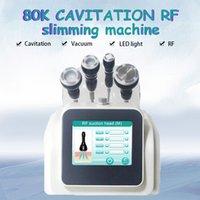 2021 Vórtice Burst Fat 80KCavitação Máquina de Perda de Peso Vácuo RF Slimming Frequência Máquinas de Frequência Apertação Cavitação