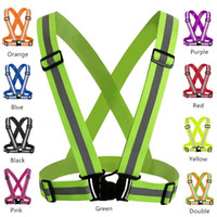 Safety Gear Night Sports Running Reflective Vest Clothing Hi...