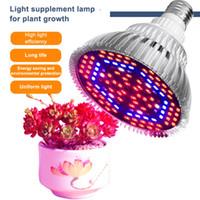 LED växer ljus fullt spektrum 30W / 50W / 80W E27 LED Växlad glödlampa för inomhus hydroponics Blommor Växter LED tillväxtlampa