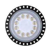 100W سامسونج الجيل الثالث LED UFO High Bay ضوء الصناعة الخفيفة قاعة مصباح التعدين أضواء السقف ورشة الإضاءة