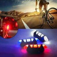 Luzes de freio de bicicleta à prova d 'água da cauda traseira LED USB recarregável montanha ciclismo de ciclismo de segurança de segurança luz frete grátis