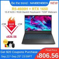 """وصول أجهزة الكمبيوتر المحمولة Maibenben Maibook X546 كمبيوتر محمول الألعاب [AMD Ryzen5 4600h / GeForce GTX 1650 4G / 15.6 """"Ads / RGB Backlit Keyboard / Black] 1"""