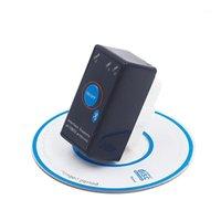 I lettori di codice Strumenti di scansione Super Mini ELM327 Bluetooth ELM 327 Interruttore di accensione V2.1 Pulsante ON / OFF Pulsante OBD2 Auto Diagnostica auto multi-lingue per O