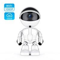 Kameralar 1080p Bulut Ev Güvenlik IP Kamera Robot Akıllı Otomatik İzleme Kablosuz WiFi CCTV Video Gözetim