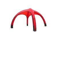 Пользовательский бренд открытый надувной палатку герметичный портативный паук купольная палатка 3MX3M (10 фунтов 10 футов)