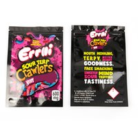 ERRLLI Gummies Mylar Bag Package 600mg multiple Styles