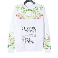 Neue Ankunftmens-Sweatshirts der Frauen Männer Top große Qualität Super Soft Cozy Sweatshirt 2020 Blumen Lange Hip Hop Sleeve Sweat Shirt Mantel