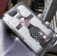 Super Factory v2 Versão 2 Cor Dial Dial Watch Strap Modelo 126234 BP 2813 Movimento 36mm Dial Dial Automático Mulheres Relógios
