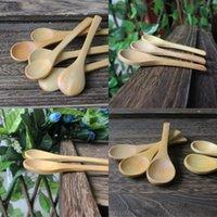 새로운 패턴 아기 숟가락 작은 숟가락 나무 수프 국자 사랑스러운 가정용 부엌 도구 10cm 저녁 0 7AD D2 데