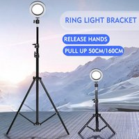 32cm 50cm LED Studio Camera Selfie Ring Light Youtube Video Live Beauty Fill Lamp Photography Lighting Smartphone Tripod Bracket