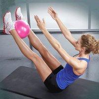 25cm Yoga Ball Übung Gymnastik Fitness Pilates Ball Balance Übung Gym Fitness Yoga Core Ball Indoor Training