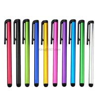 Клип дизайн универсальная мягкая головка для телефона таблетка прочный стилус ручка емкостный карандаш сенсорный экран ручка дропшиппинг