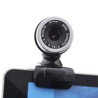 Новый HD Веб-камера веб-камеры 360 градусов Цифровое видео USB 480P 720P PC Webcam с микрофоном для ноутбука настольный компьютер аксессуар
