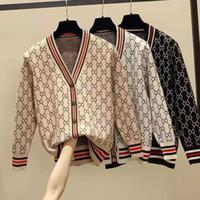 Bayan Kış Hırka Kazak Yün Karışımlı Bluz Kadın Triko Kadın Kazak V Yaka Hırka Nedensel Giyim Boncuk S-4XL