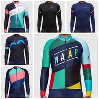 Neu ankommen 2019 maap team radfahren jersey fahrrad shirt bike jacke langarm männer radfahren kleidung schnelle trocken sport einheit y070805