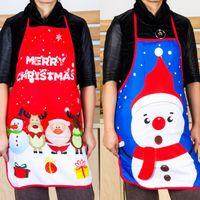 عيد الميلاد مضحك مآزر المطبخ لامرأة عيد الميلاد الديكور شخصية الجدة زوجين حزب هدايا للأدوات مطبخ الإبداعية شحن مجاني