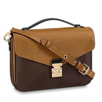 المصممين حقائب اليد حقيبة crossbody المحافظ جودة عالية جلد طبيعي مخلب الأزياء النسائية 2021 pochette metis الكتف كتف أكياس الكلاسيكية مقبض محفظة