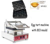 Model 813 Ticari 13 Delik Yumurta Tart Makinesi Tartlet Kabuk Makinesi Yumurta Waffle Koni Makinesi Waffle Bowl1